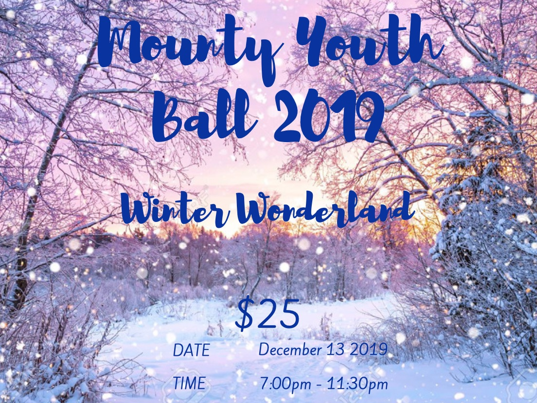 Mounty Youth Ball 2019