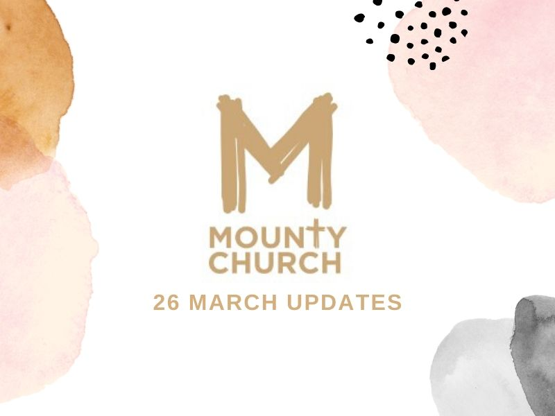 MountyChurch - 26 March Updates