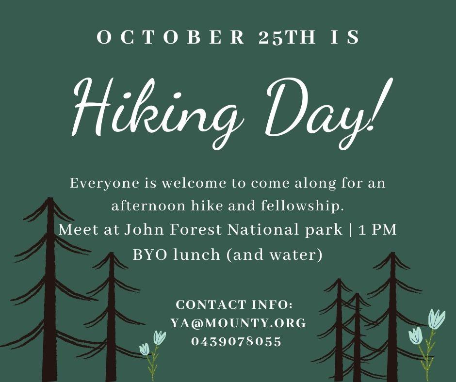 Mounty Hiking Day