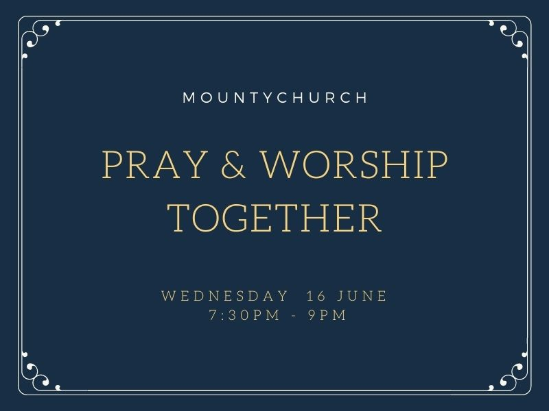 Pray and Worship Together